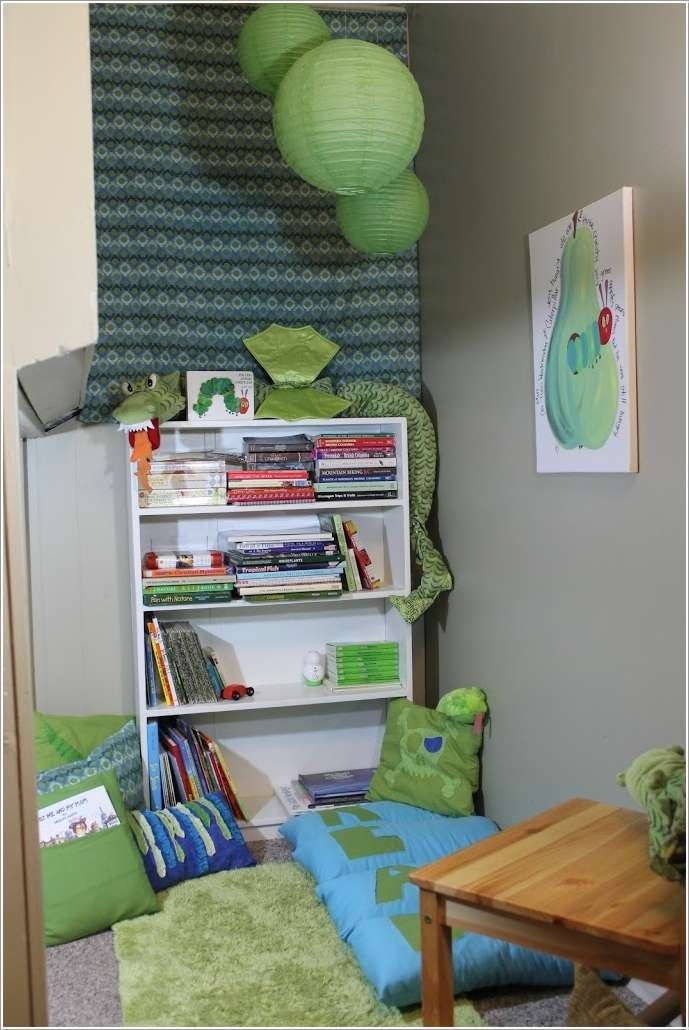6  15 Creative Ways to Design a Reading Nook for Your Kids 626