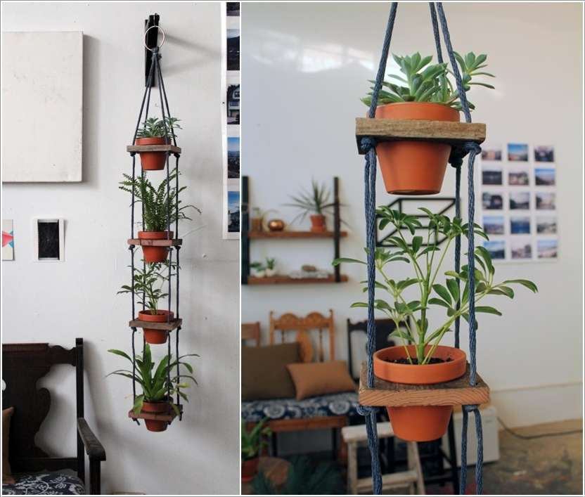 7  15 Fabulous DIY Hanging Planter Ideas for Your Home 722