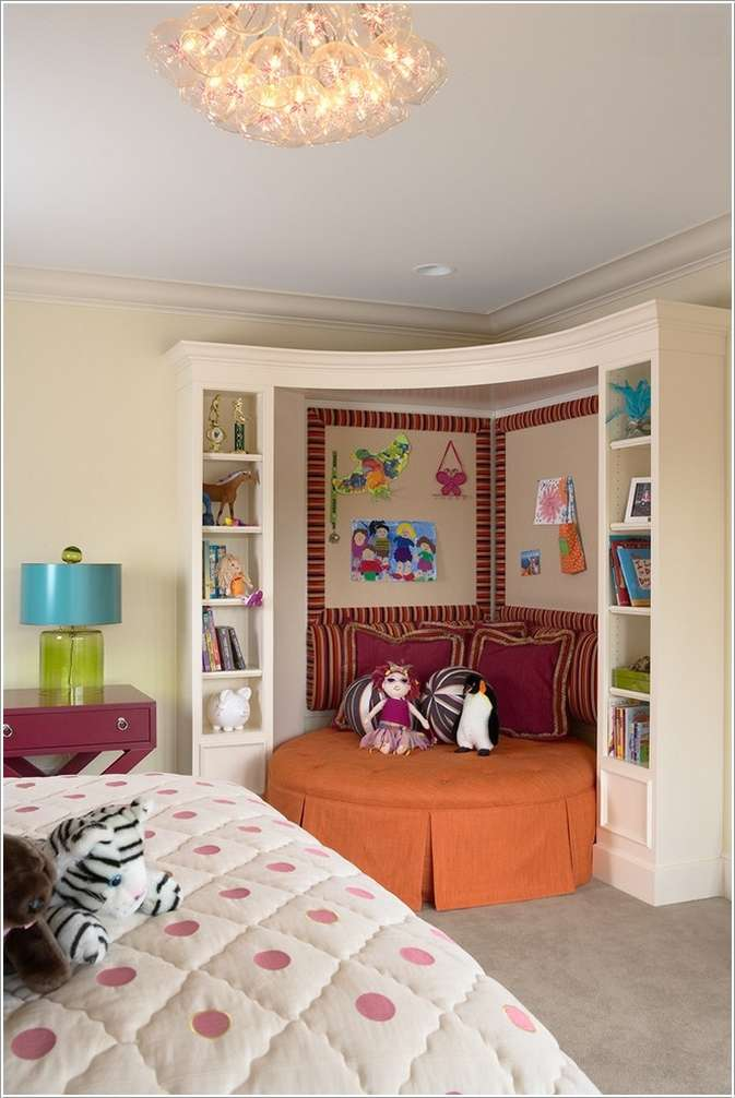 7  15 Creative Ways to Design a Reading Nook for Your Kids 727