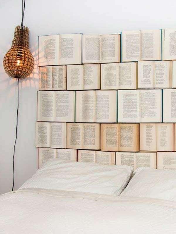 Books as Headboard