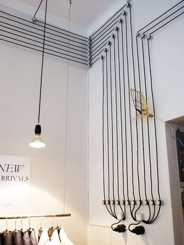 Creative Wire Placement