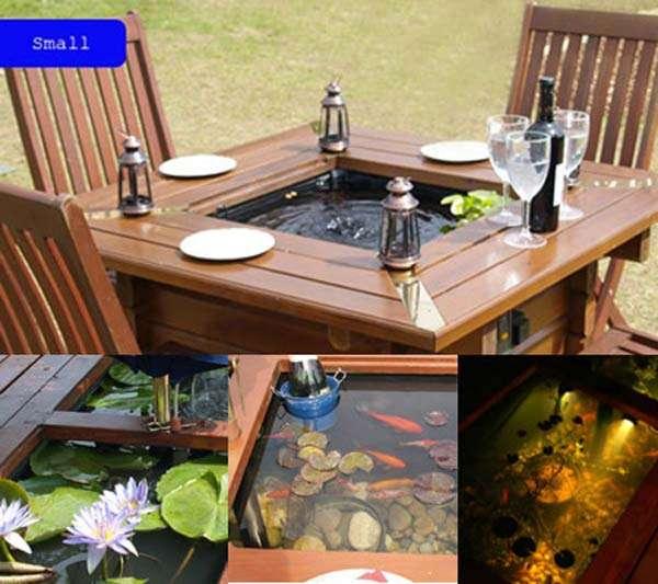 15 awesome small backyard aquarium diy ideas for Outdoor fish tank