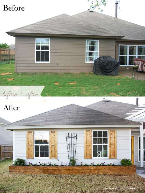 How to add shutters