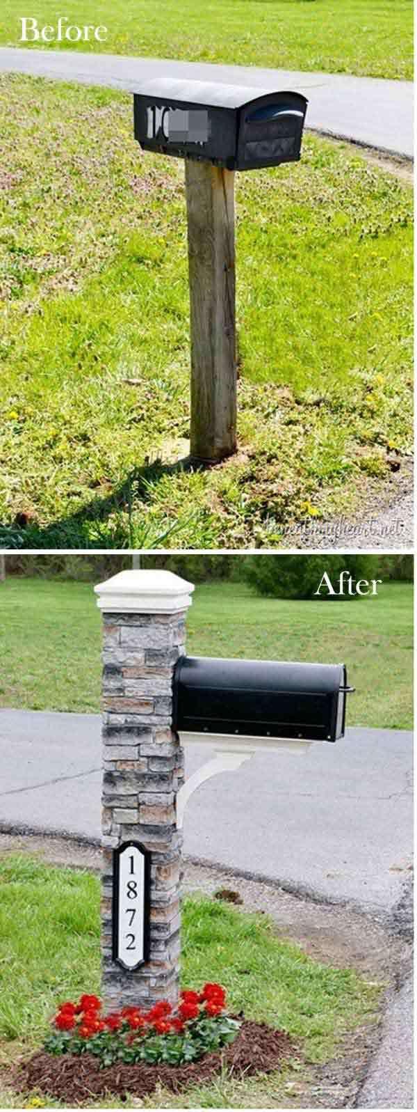 Makeover of a mailbox