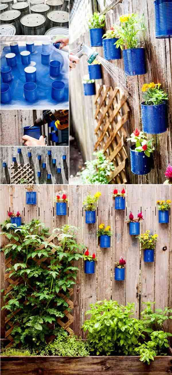 Painted Containers Pots