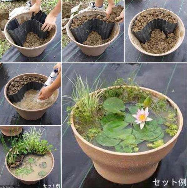 Plant Pot Used as a Mini Pod