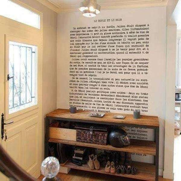 Print Out Your Favorite Book paragraph on your wall