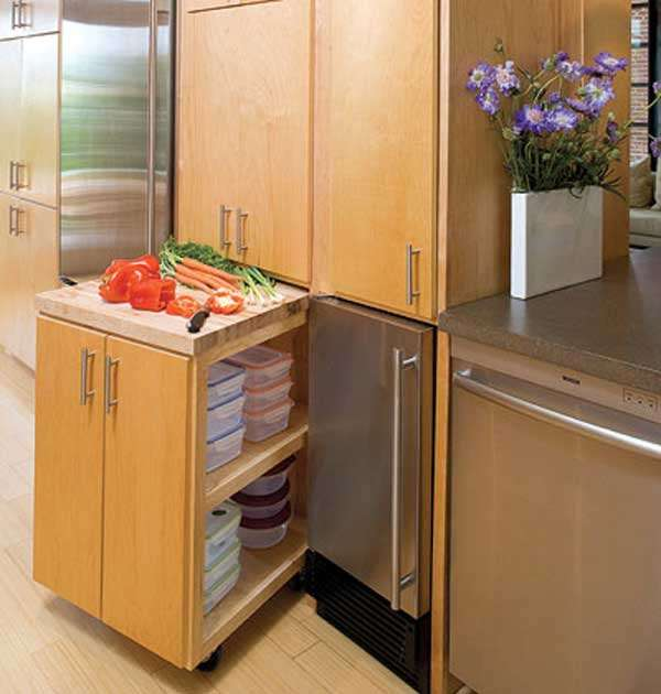 15 smart and creative space saving interior ideas - Space saving cabinet ideas ...