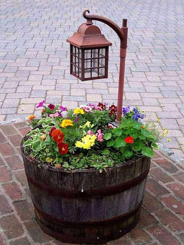 17 cool and easy diy garden pot ideas for Garden pots designs