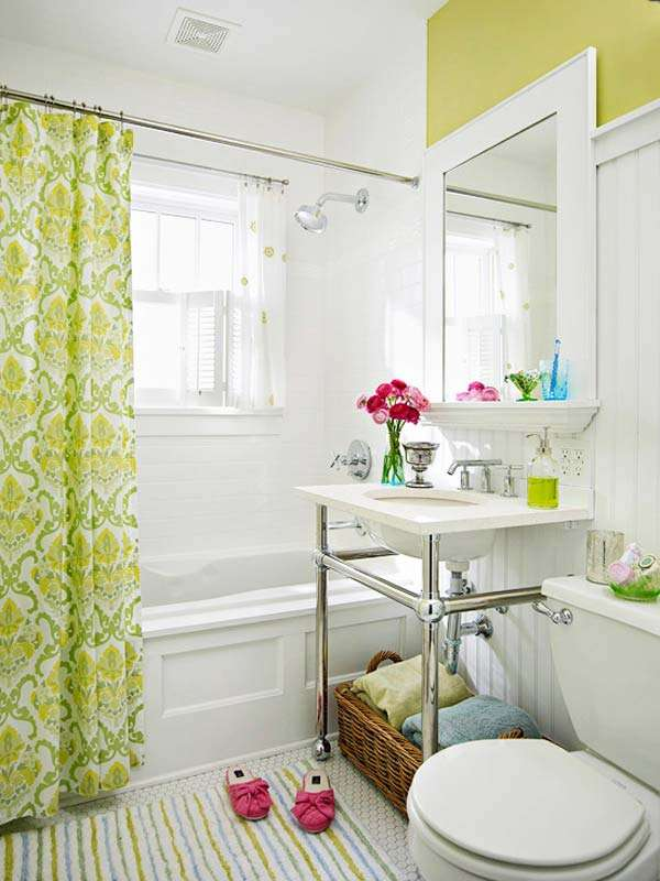 15 Cool Ideas To Make Small Bathroom Looks Visually Bigger