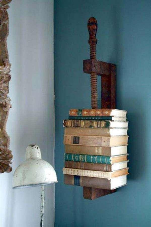 VIntage Floating Book Shelf