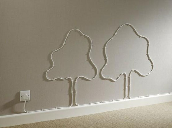 Wires turned into trees