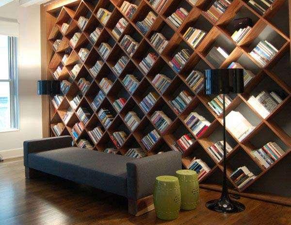 ZIg Zag Bookshelving