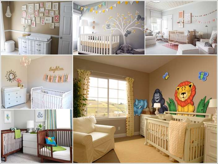 a  15 Adorable Ways to Liven Up a Nursery with Neutral Colors a1