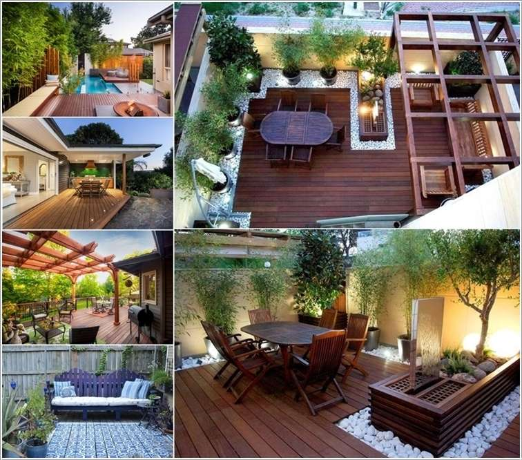 5 Amazing Interior Landscaping Ideas To Liven Up Your Home: 10 Inspiring And Cool Ideas To Spice Up A Deck