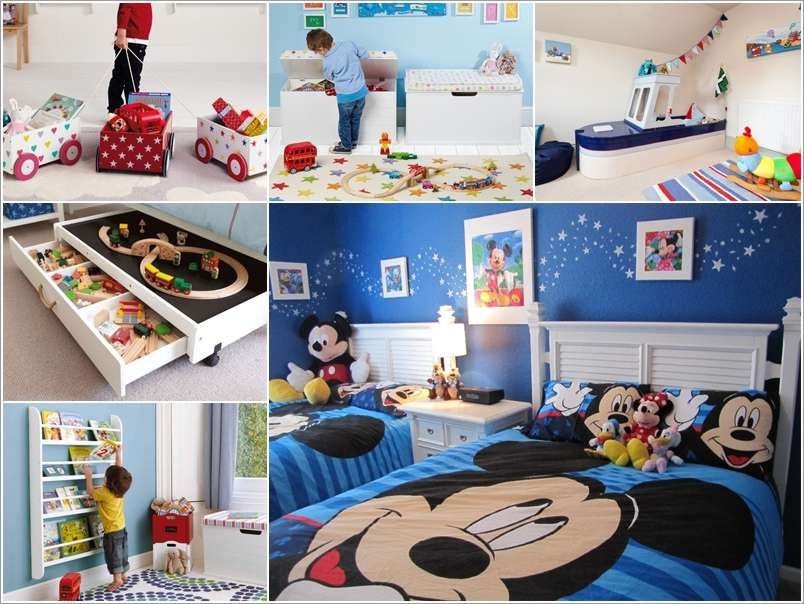 15 Super Cute Ideas To Decorate A Toddler Boy S Room