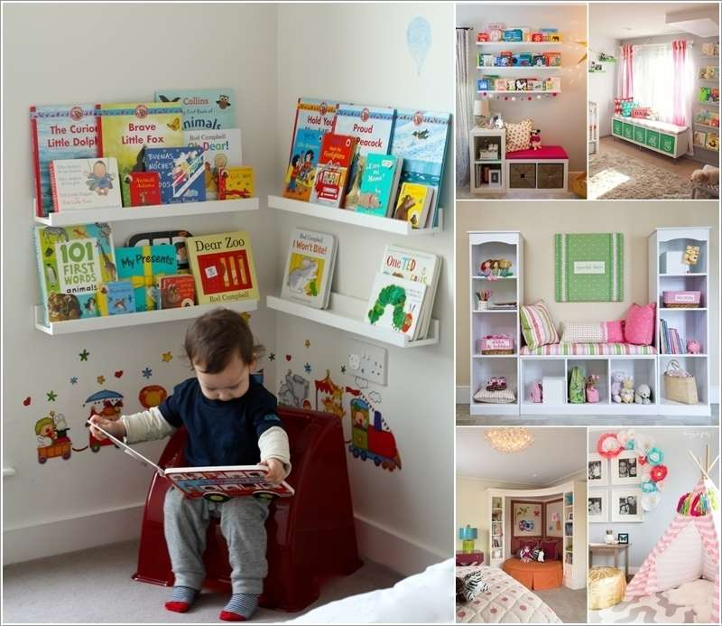 a  15 Creative Ways to Design a Reading Nook for Your Kids a27
