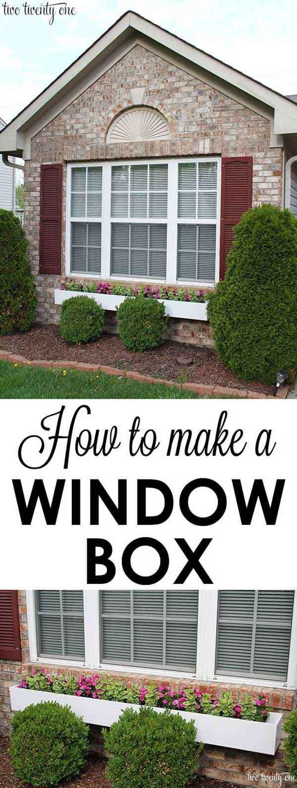 add a window box.
