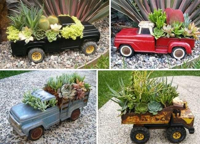 10 Terrific Garden Planter Ideas With Wheels