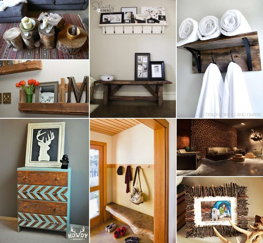 31 Rustic Diy Home Decor Projects: 40 Terrific Rustic Home Decor Projects You Can Try Yourself