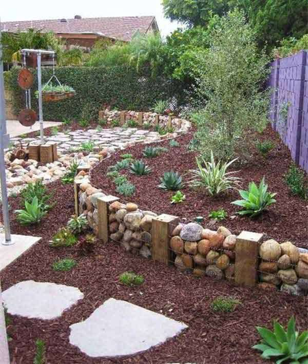 15 Creative Garden Ideas You Can Steal: 15 Awesome DIY Garden Bed Edging Ideas