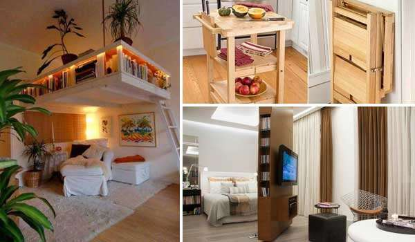 15 Smart And Creative Space Saving Interior Ideas