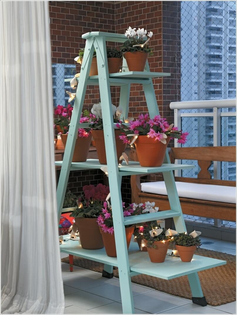 1  10 Things to Display on a Ladder Shelf That You Will Love 1