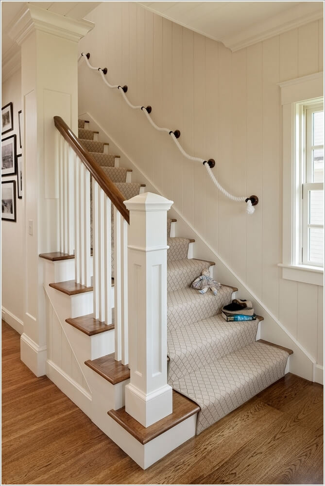 10  15 Inspiring and Cool Ideas to Update Your Staircase 1015