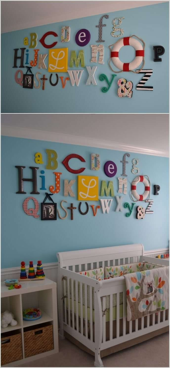 10  12 Adorable Ideas to Add Color Pops to Your Baby's Nursery 1021