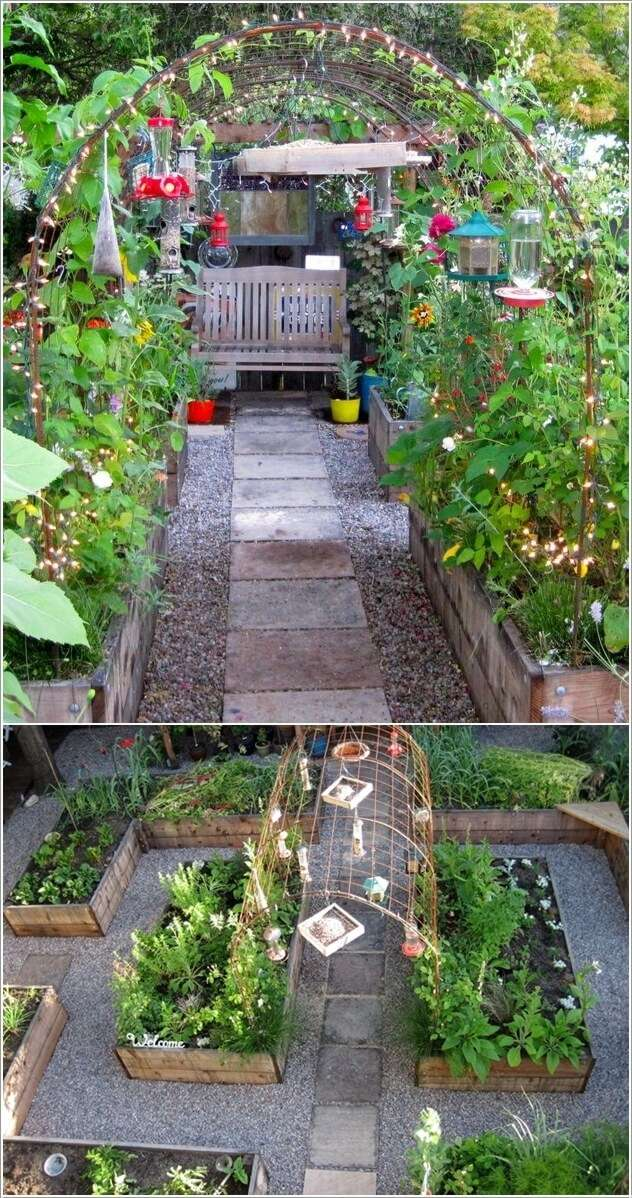 10  15 Unique Kitchen Gardens That Your Home Deserves 1026