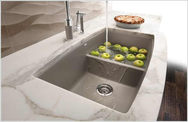 10 Functional Kitchen Sinks That You Will Admire