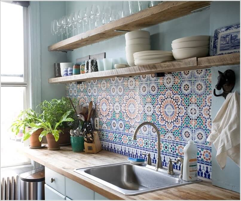 15 Amazing Ideas to Add Pattern to Your Kitchen