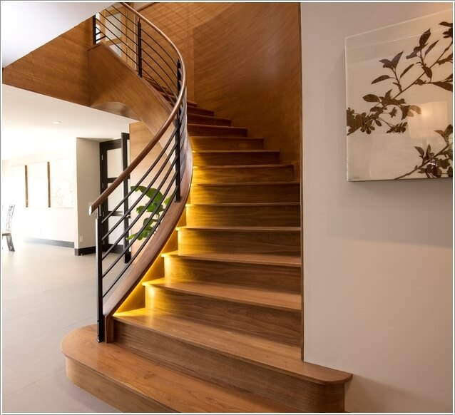11  15 Inspiring and Cool Ideas to Update Your Staircase 1113