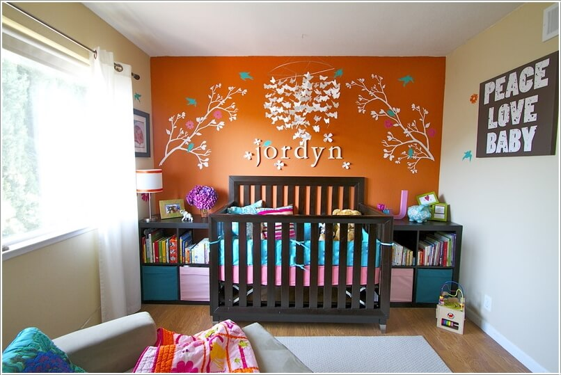 11  12 Adorable Ideas to Add Color Pops to Your Baby's Nursery 1115