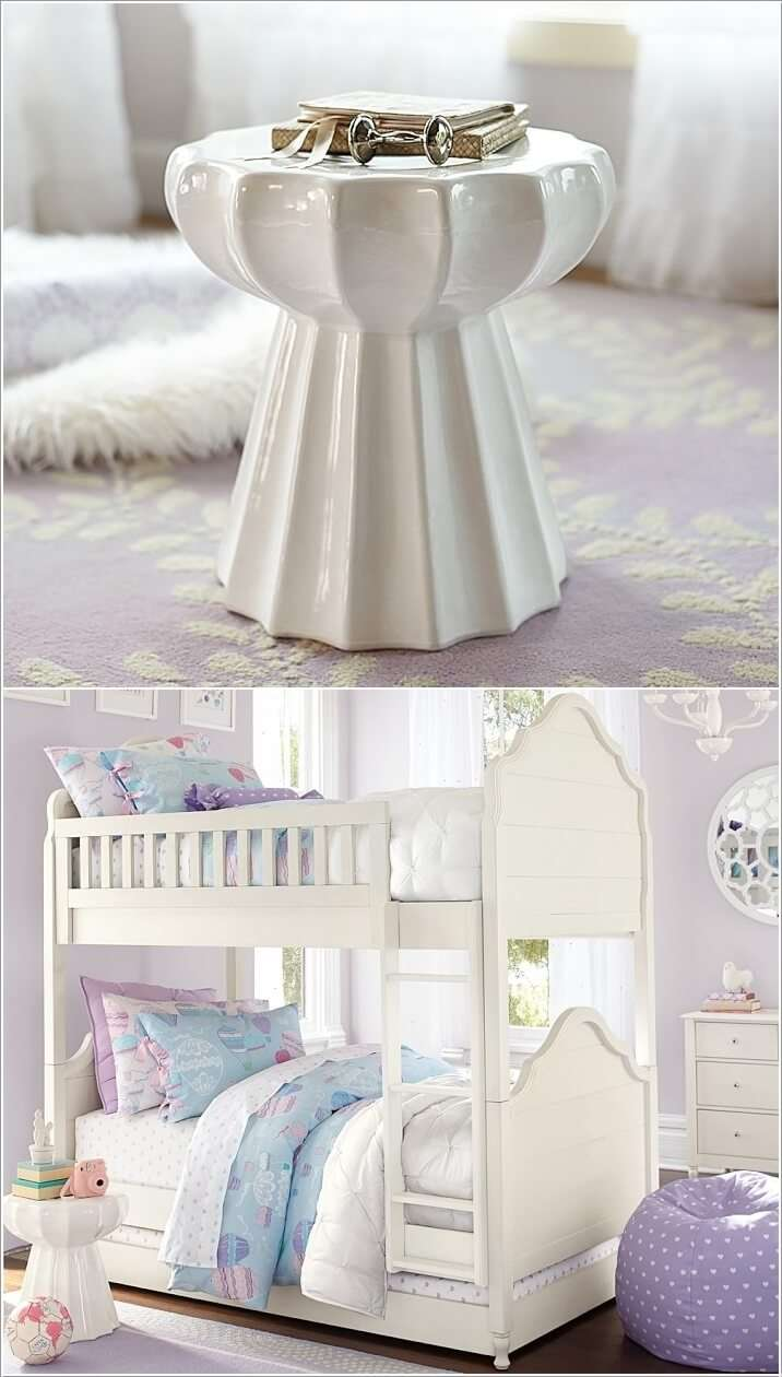 11  15 Cute Kids' Bedroom Nightstand Designs 1119