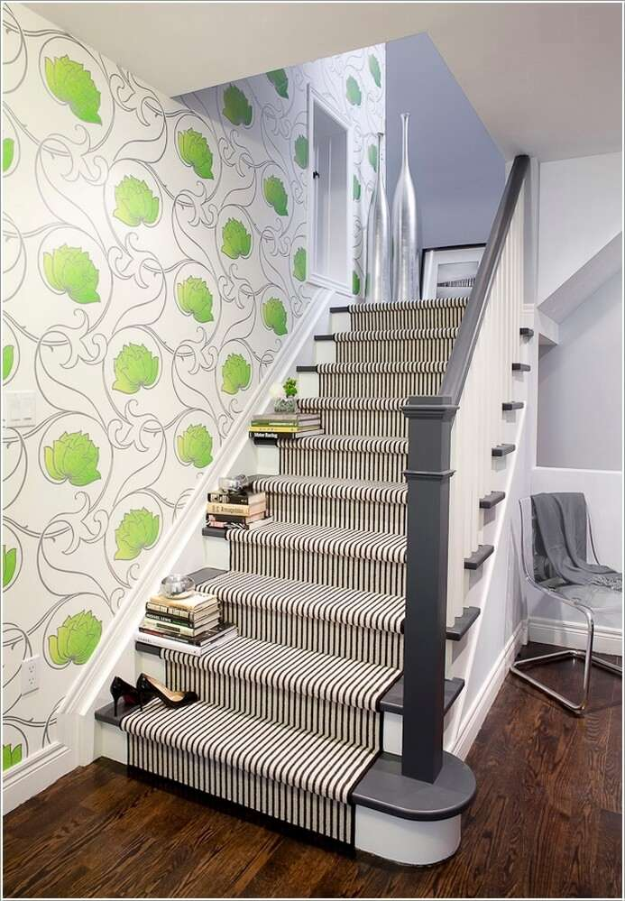 13  15 Inspiring and Cool Ideas to Update Your Staircase 1310