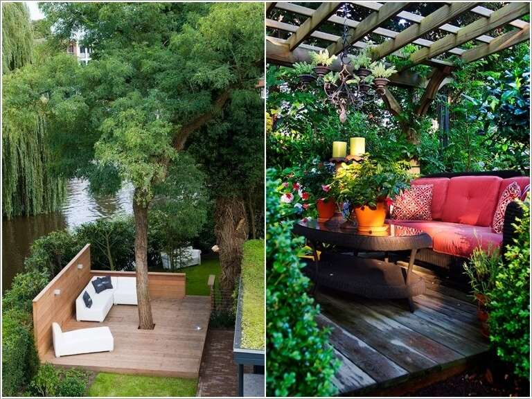 Outdoor Spaces Fair 15 Cool Ideas To Decorate Tiny Outdoor Spaces Decorating Inspiration