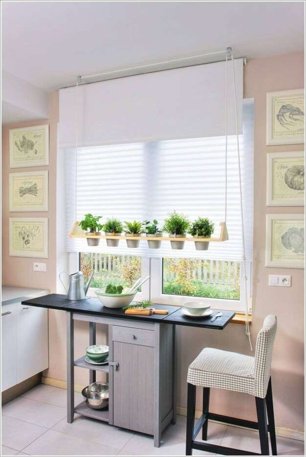 15  15 Unique Kitchen Gardens That Your Home Deserves 1512