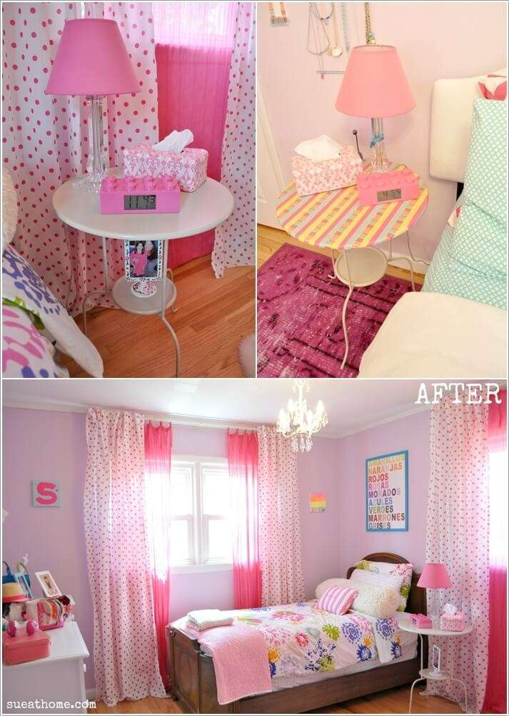 15  15 Cute Kids' Bedroom Nightstand Designs 1513