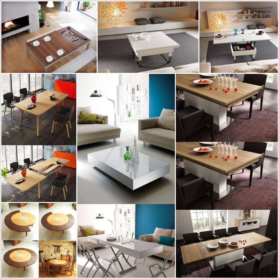 30 Clever Extendable Dining Table Designs · 21 May 2015 · Fiyaa. Off.  Facebook Pinterest Twitter StumbleUpon WhatsApp. 1