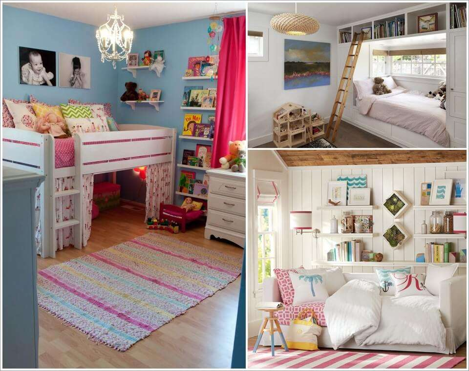 Space Saving Designs For Small Kids Rooms: 21 Clever And Space Saving Ideas For A Tiny Kids' Room