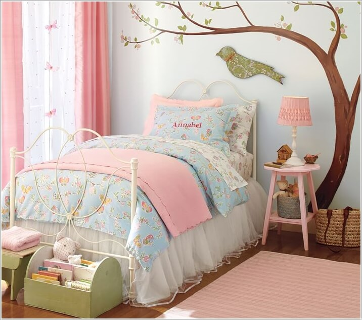1  15 Cute Kids' Bedroom Nightstand Designs 184