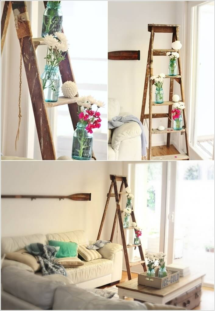 3  10 Things to Display on a Ladder Shelf That You Will Love 322