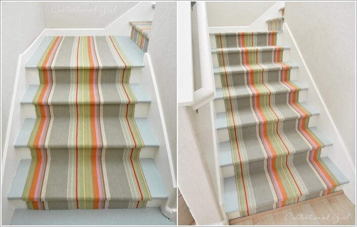 4  15 Inspiring and Cool Ideas to Update Your Staircase 414