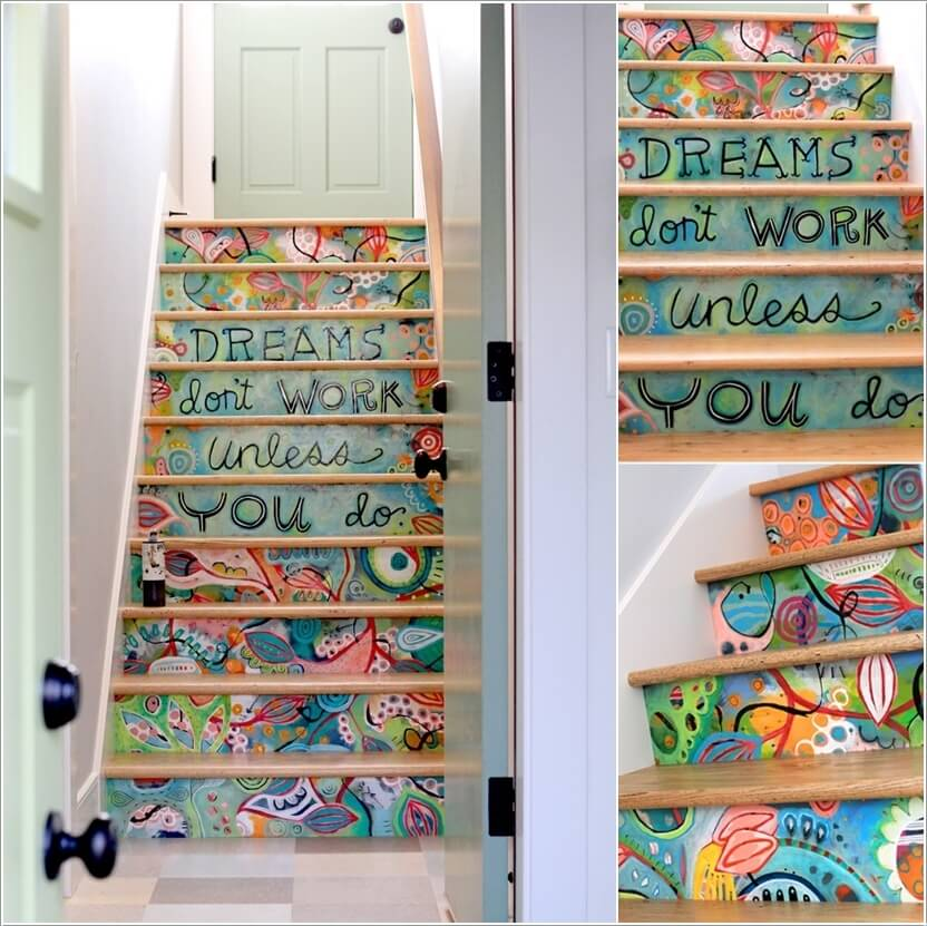 5  15 Inspiring and Cool Ideas to Update Your Staircase 514