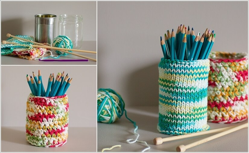 5  10 Cool DIY Pencil Holders for You to Make 527