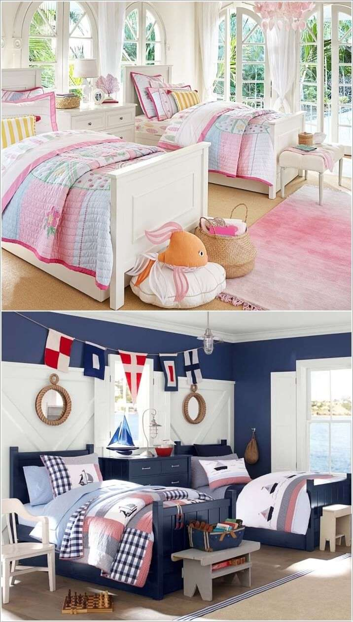 6  15 Cute Kids' Bedroom Nightstand Designs 627