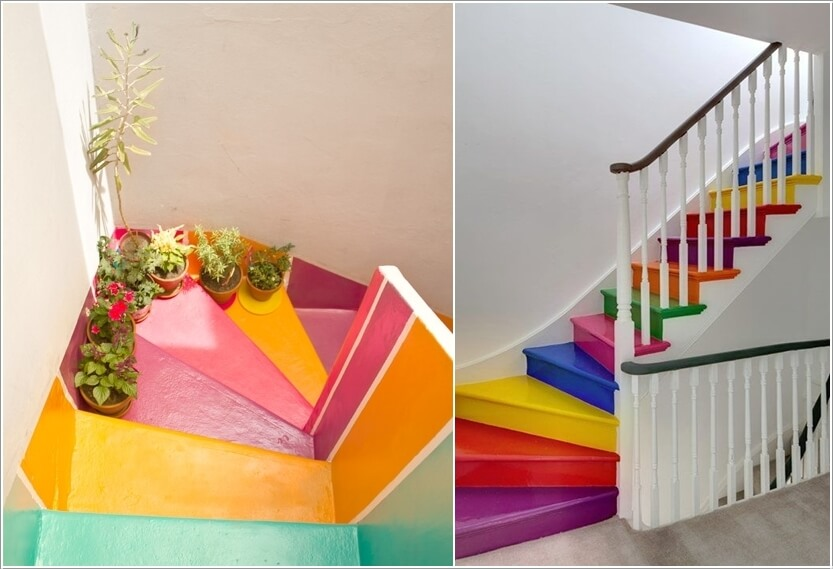 7  15 Inspiring and Cool Ideas to Update Your Staircase 713