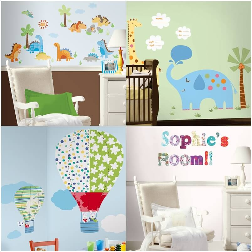 7  12 Adorable Ideas to Add Color Pops to Your Baby's Nursery 719