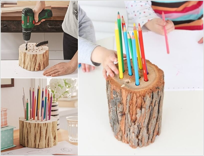 8  10 Cool DIY Pencil Holders for You to Make 826